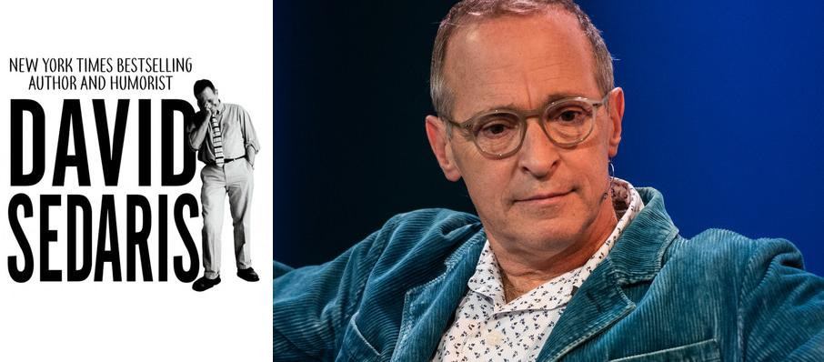 David Sedaris at Granada Theatre