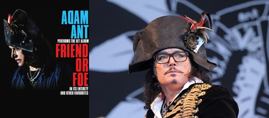 Adam Ant at Chumash Casino