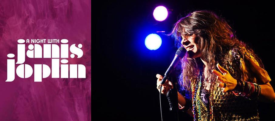 A Night with Janis Joplin at Arlington Theatre