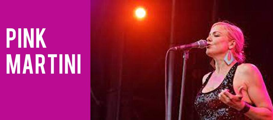 Pink Martini at Arlington Theatre