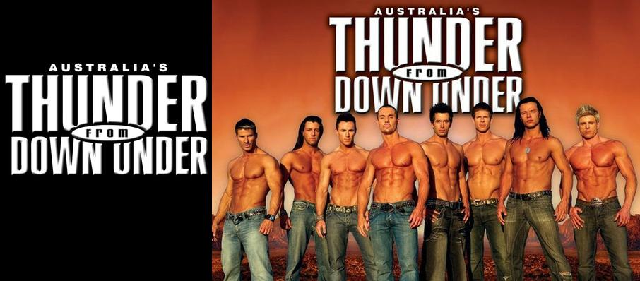 Thunder From Down Under at Chumash Casino