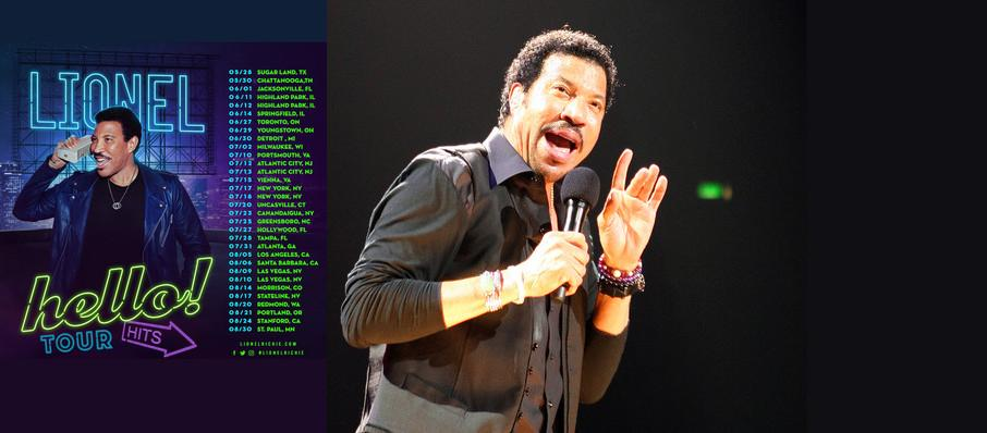 Lionel Richie at Santa Barbara Bowl