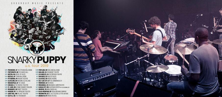 Snarky Puppy at Campbell Hall At UCSB