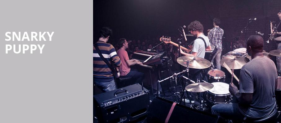 Snarky Puppy, Campbell Hall At UCSB, Santa Barbara