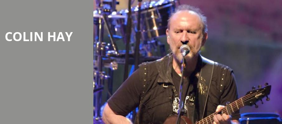 Colin Hay, The Lobero, Santa Barbara